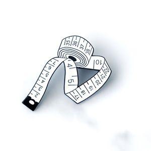 Jewelry - NEW Large Sewing Measuring Tape Enamel Pin